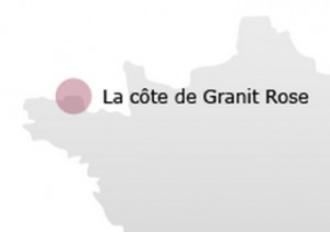 Carte Cote de Granit Rose