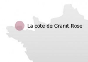 Carte Cote de Granit Rose