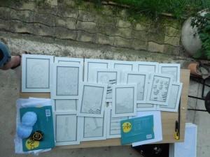 Quelques images du projet de Louise de Contes