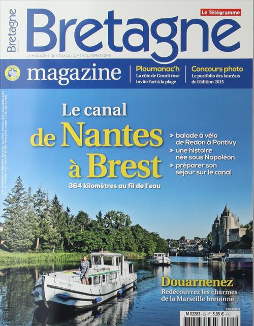 Le Festival de l'estran au sommaire du dernier Bretagne Magazine