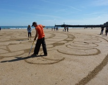 Beach Art, par Michel Jobard