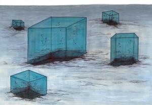 Anne Le Gars, Edgar Flauw & Estéban Richard, Faire voler la mer