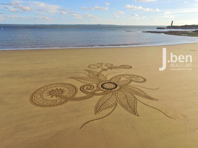 [Trébeurden] J.Ben Beach Art